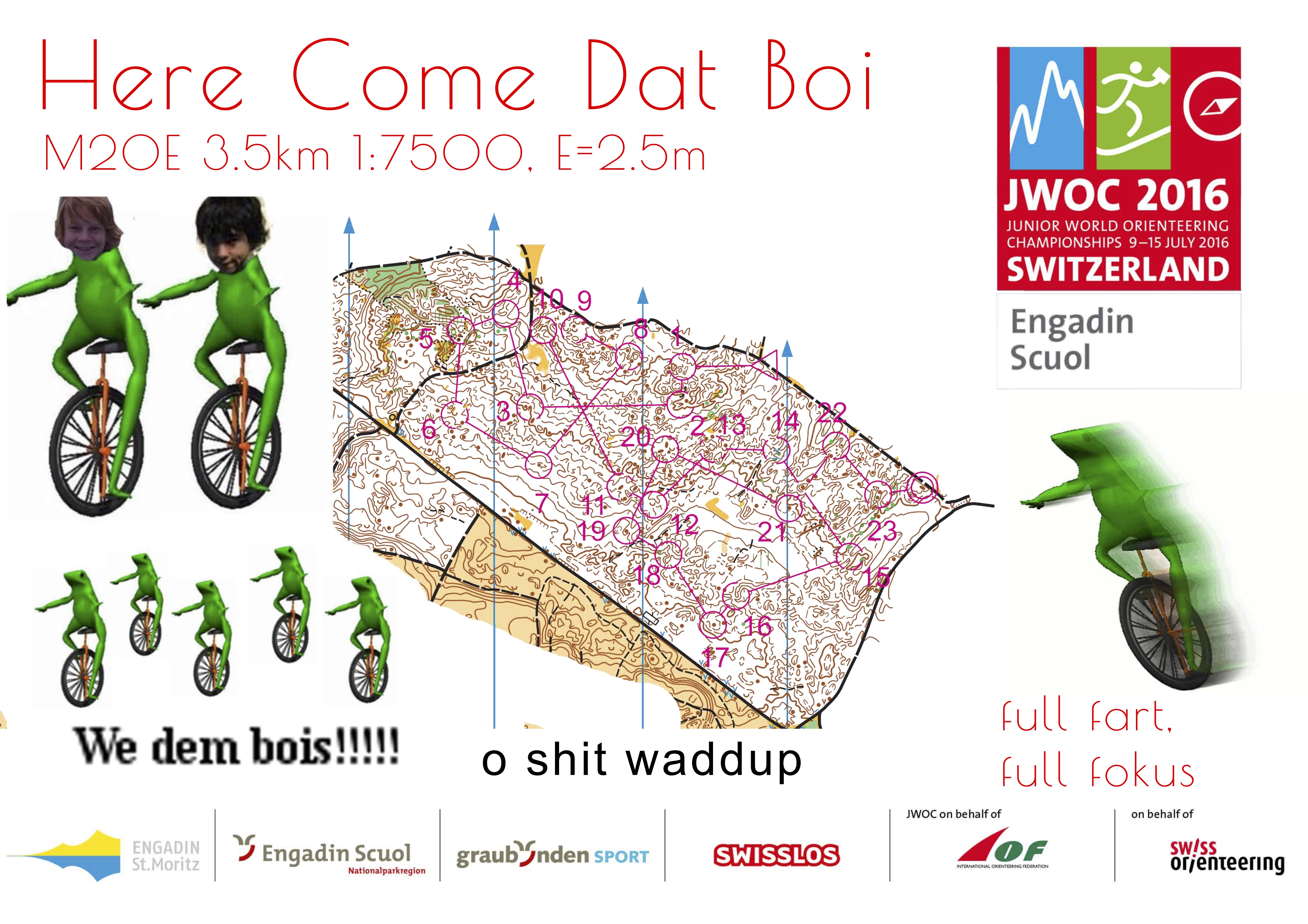 Here Come Dat Boi (10.05.2016)