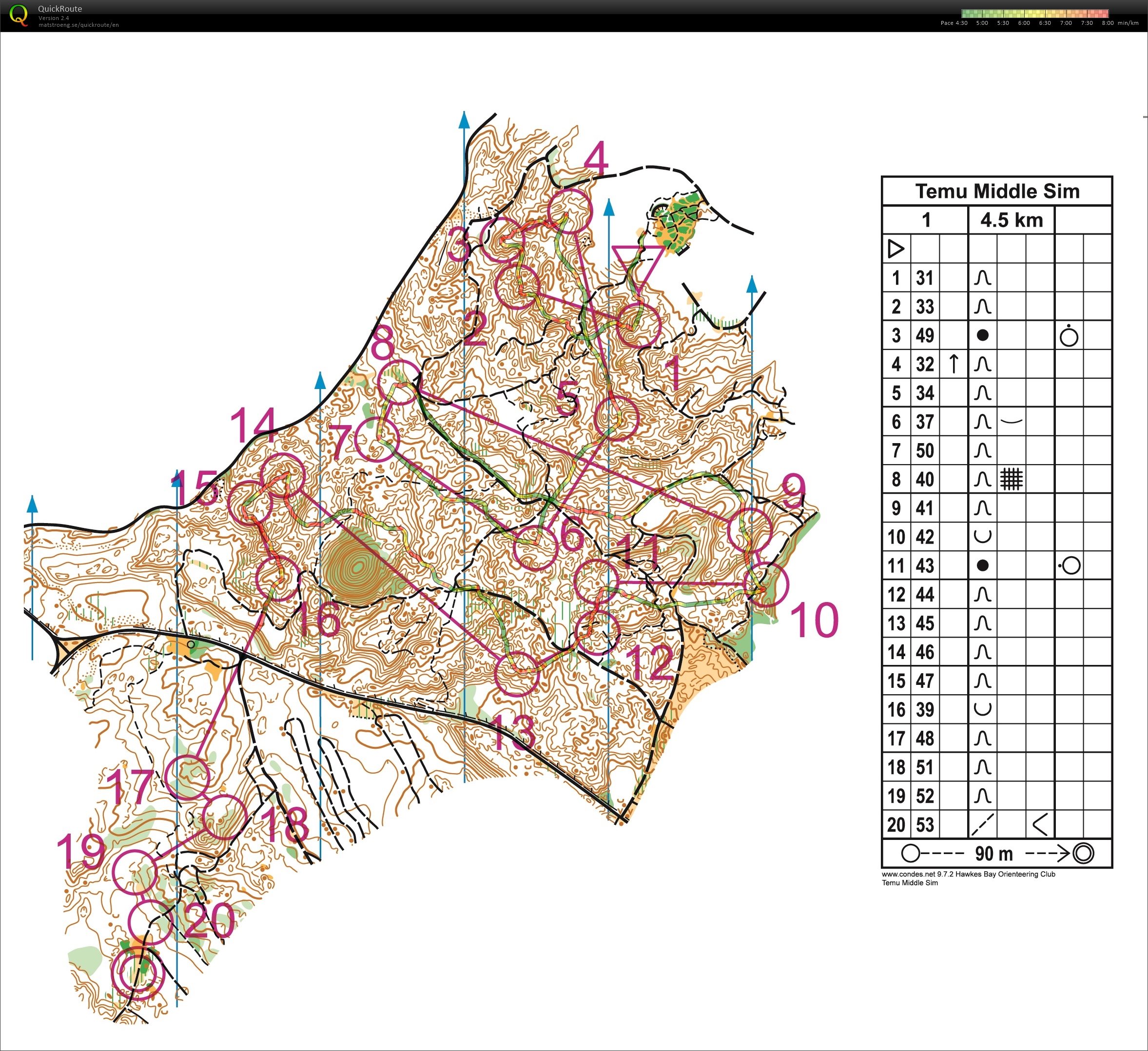 Devon Middle Sim (World Orienteering Day) (2018-05-25)