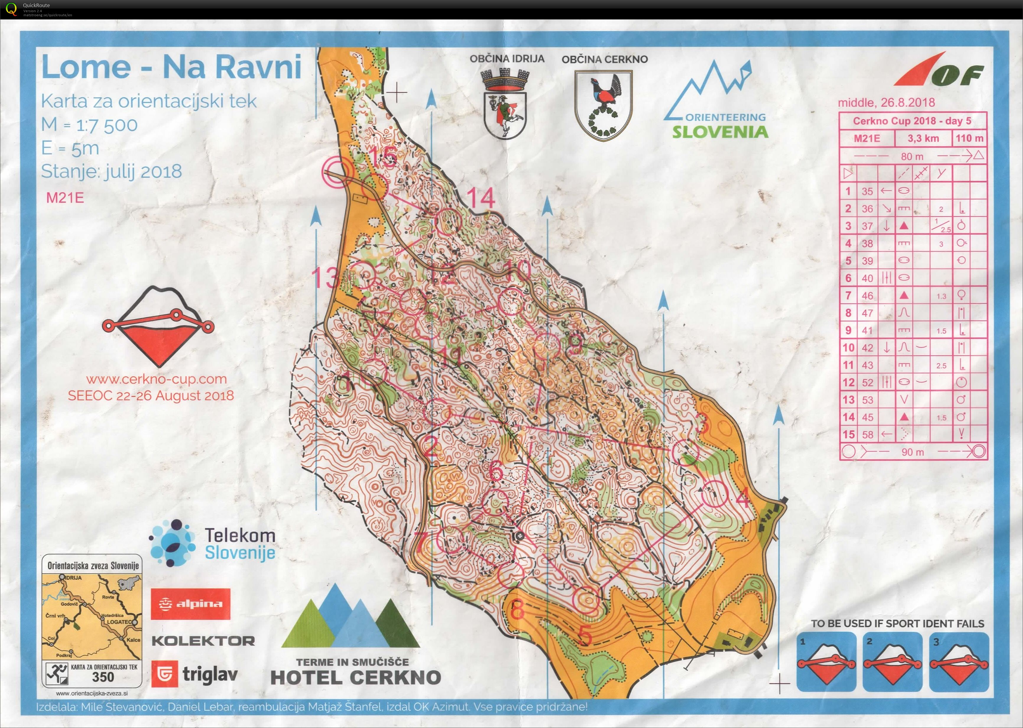 Cerkno Cup Stage 5 (2018-08-26)