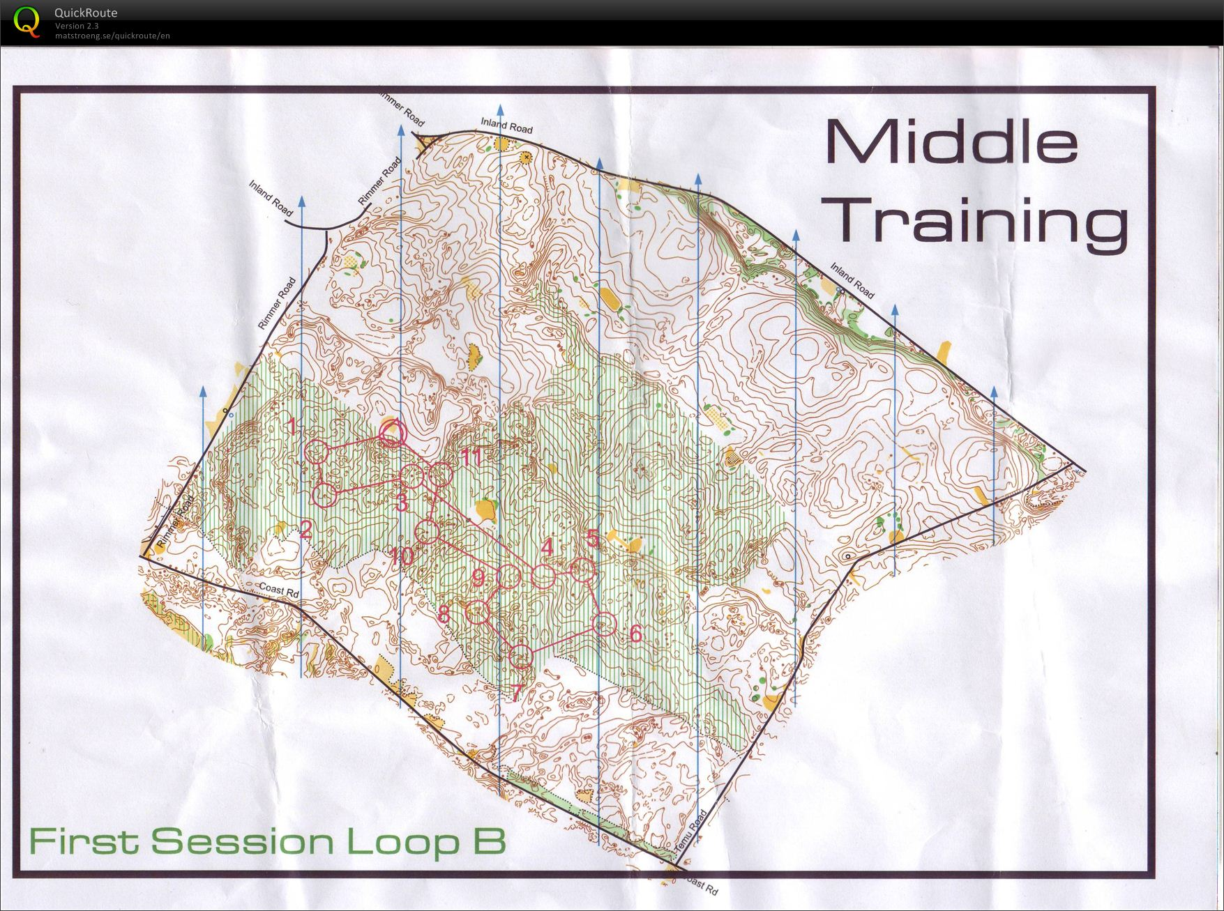 Middle Training - Rimmer Rd (30/03/2012)