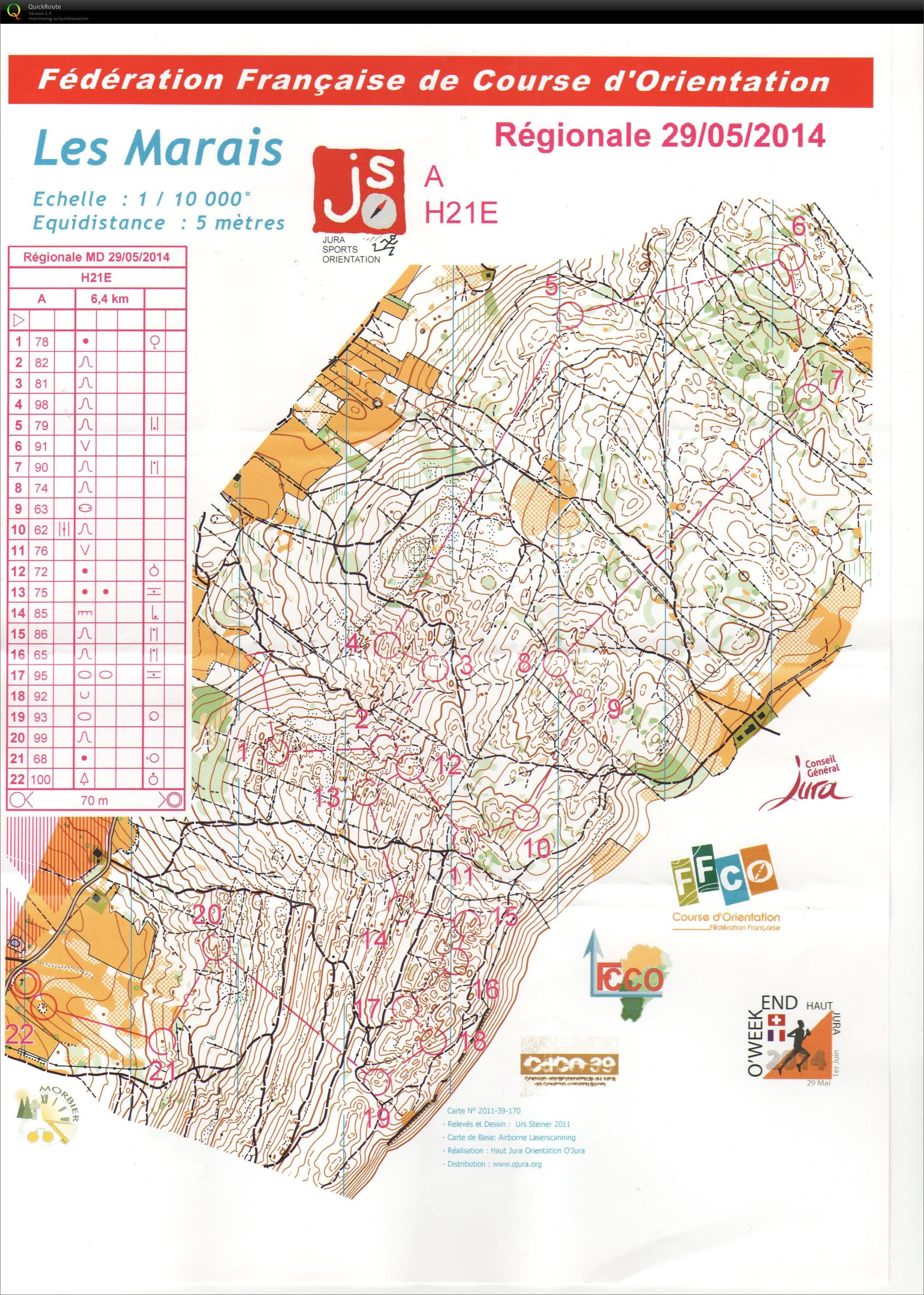 Jura O Weekend Regional Middle (29/05/2014)